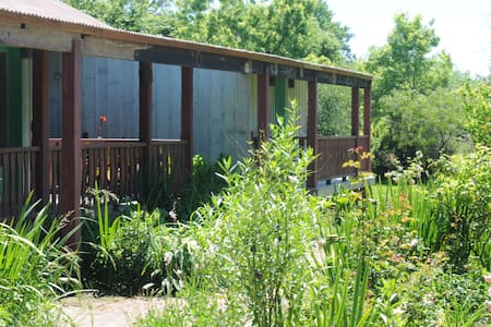 Casa de madera en plena naturaleza - Pilar