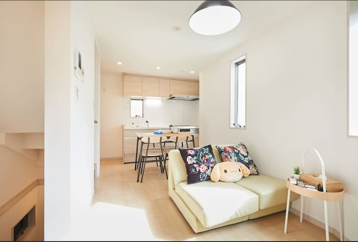 50%off Near shinjuku Brand new 3floors villa