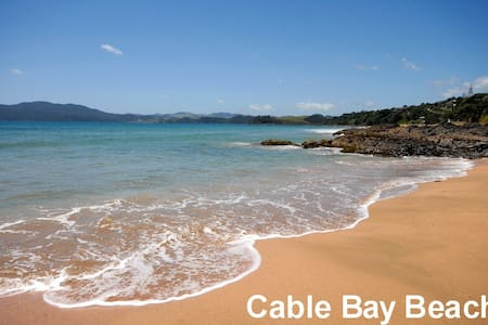 Cable Time - Modern Clean Studio + Spa Pool - Cable Bay - Huoneisto