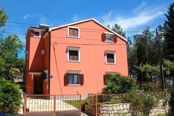 Two bedroom apartment with terrace Ćunski, Lošinj (A-7867-b) - Ćunski - Apartment