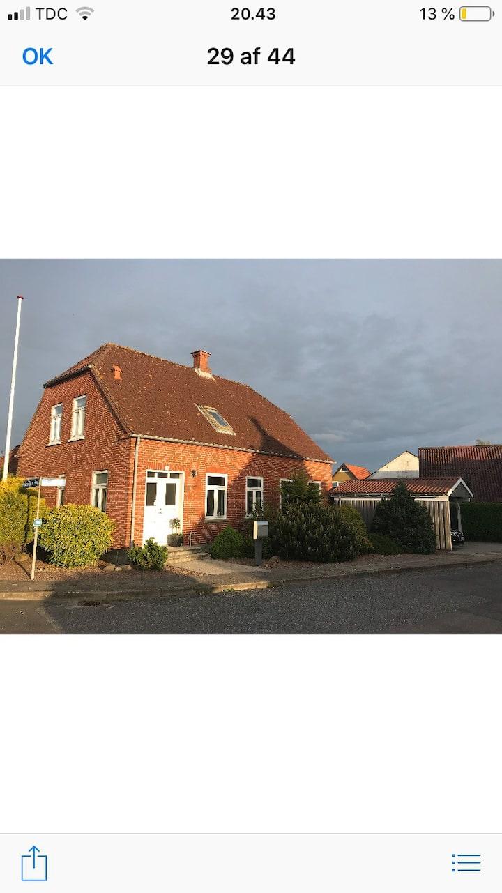 Hyggeligt hjem på Nordals