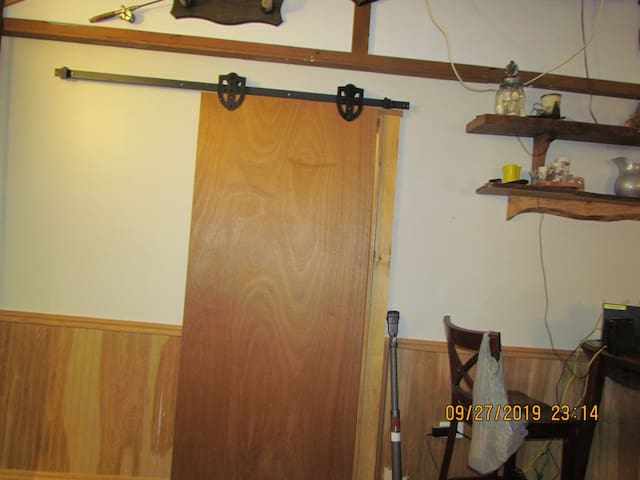A thick Barn Door for your Privacy ...