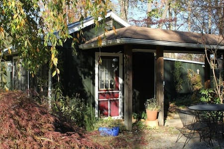 Providence: Garden Cottage w/pool - Black Mountain - Kabin