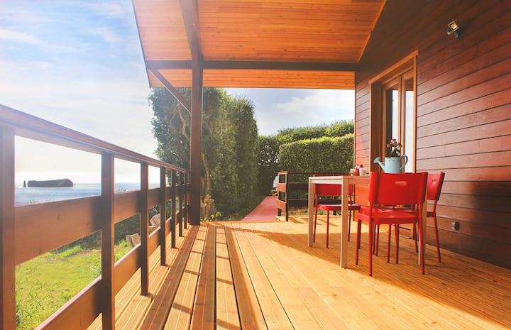 Wood House | Oceanfront | Quinta de Milhafres | 2
