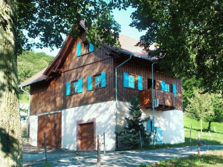 Ziegelhof, (Schuttertal), Maisonette-Ferienwohnung 1, 70qm, 2 Schlafräume,  max. 5 Personen