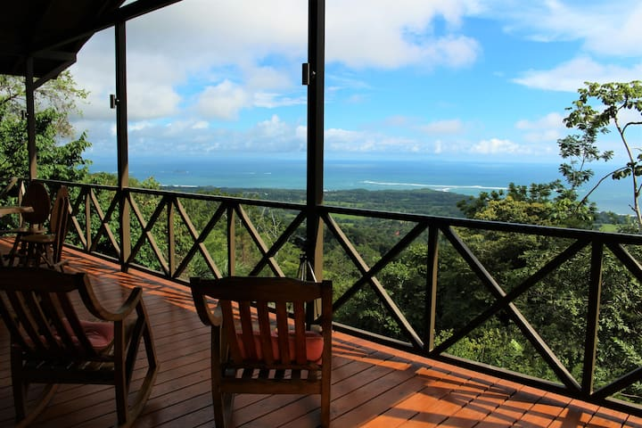 New home with amazing view of Playa Ballena, CR - Uvita - House