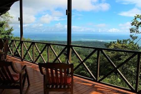 New home with amazing view of Playa Ballena, CR - Uvita