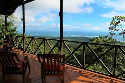 Newer home with amazing view of Playa Ballena, CR