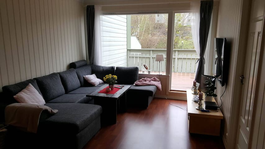 Nice room in flat , 15-20 mins from Bergen centrum