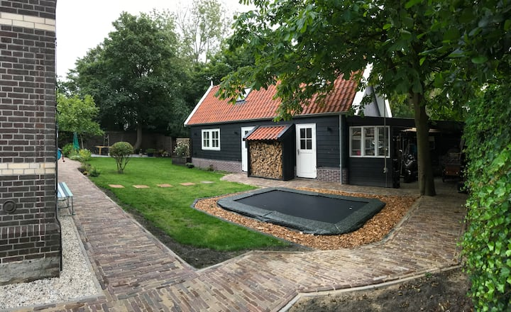 Tiny house Waterlandse stijl