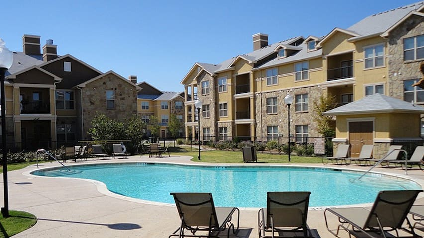 2 bed/1 bath apartment with all amenities! - Midland - Leilighet