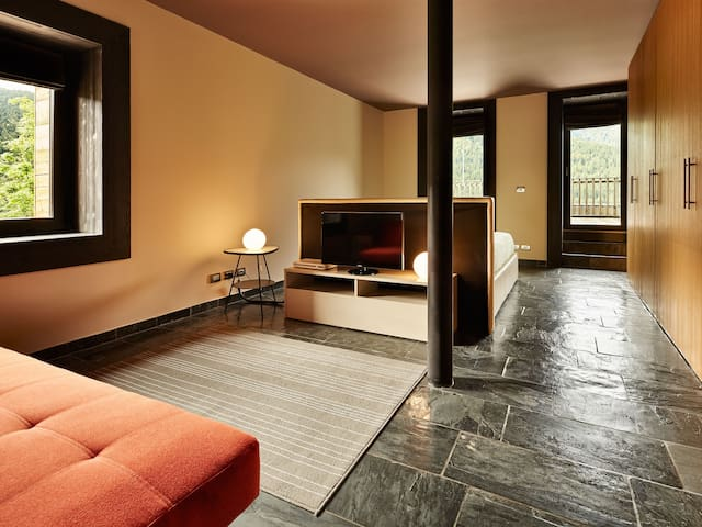 ALBERGO DIFFUSO SAURIS, Terrace suite vista lago