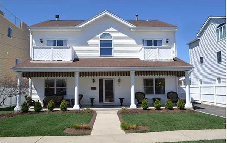 Gorgeous Long Branch Home - 1 Block from Beach!