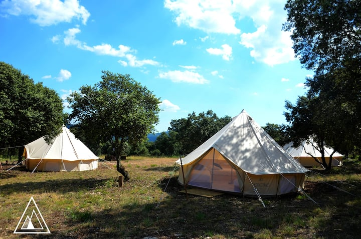 Glamping experience under the stars 3-4 guests