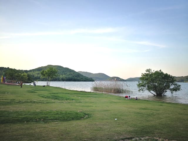 【桂林山下】紧邻溧阳涵田半山温泉,天目湖山水园景区2号大床房