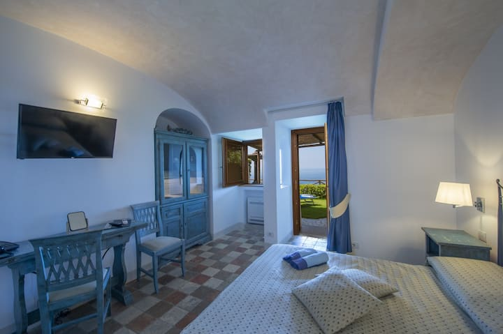 Il Sansario Deluxe double room with Queen Size bed