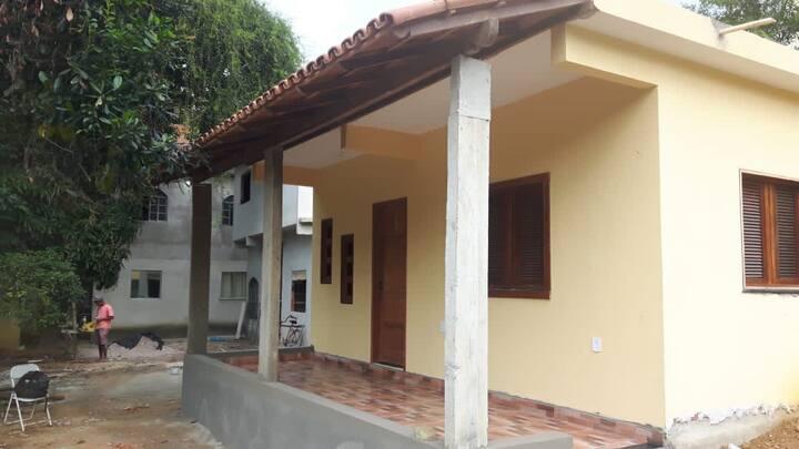 Casa em piuma a 1 km da praia do pau grande