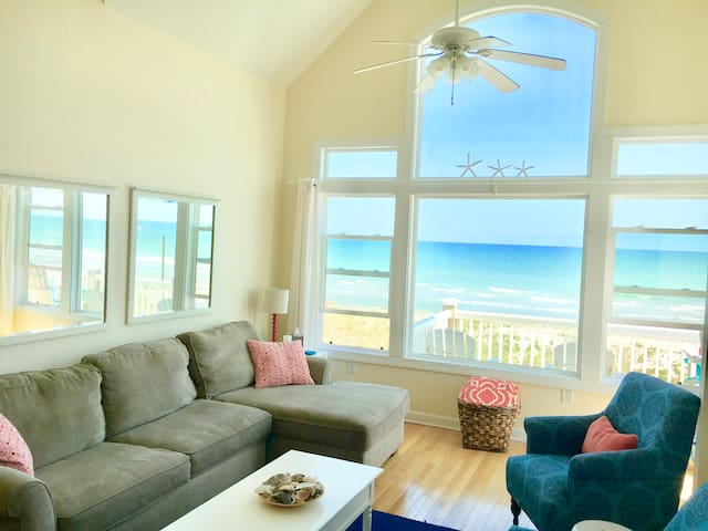"""""""Blue View"""" oceanfront e/u TH Pool Playground WOW"""
