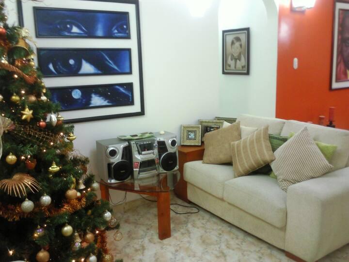 Un apartamento tranquilo y comodo