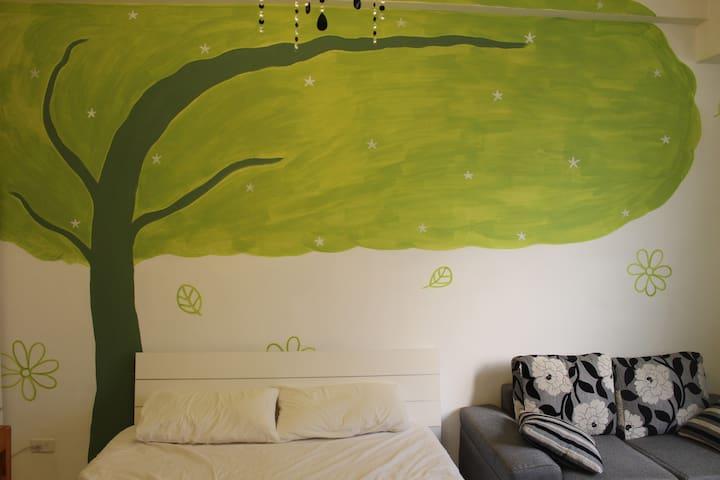綠野仙蹤2人套房(可外加記憶床墊+300元/人)