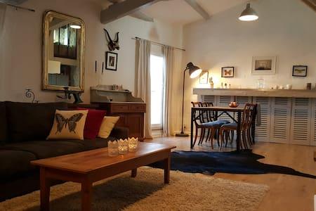 Loft 15mn Aix - Provence rated Village - Ventabren