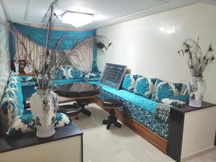 appartement de 80m² 4 pièce + cuisine et sdb