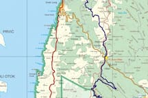 Cycling routes and moto cross