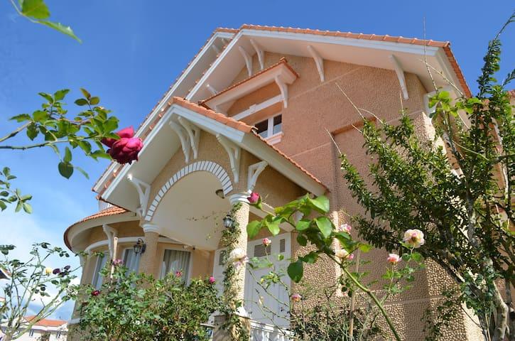 Beautiful French villa in the heart of Da Lat