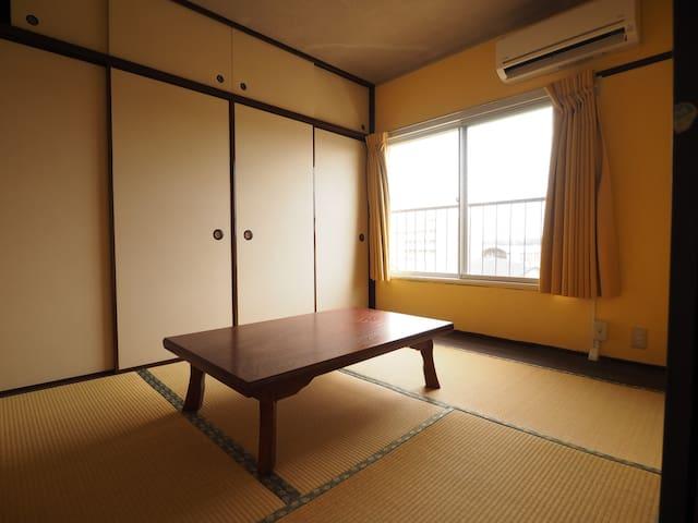 浴場完備の2K。朝食付 - Kimitsu-shi - Apartment