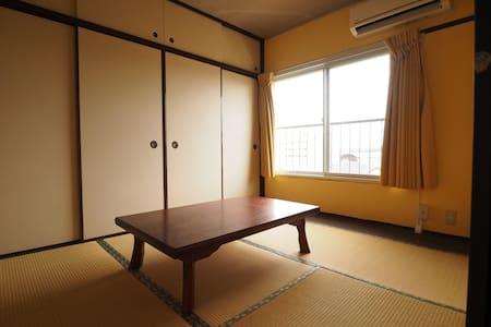 浴場完備の2K。朝食付 - Kimitsu-shi