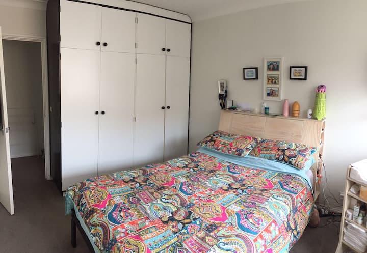 Double room in Bondi beach.