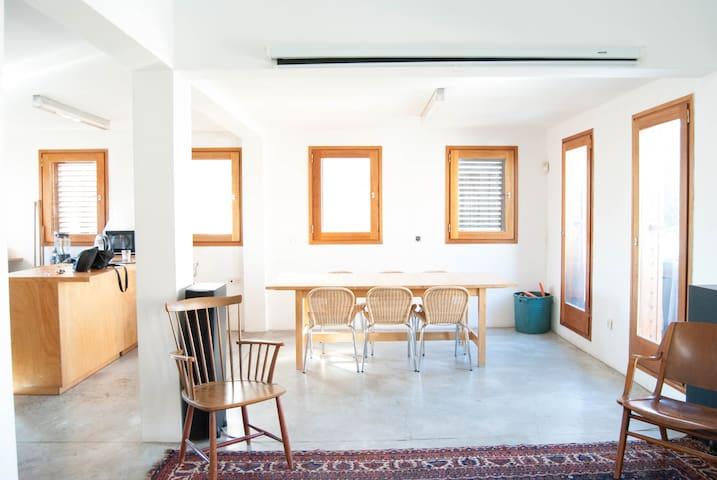 The Philosopher's apartment