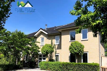 Luxurious villa (18p) - Amsterdam / Utrecht 35 min