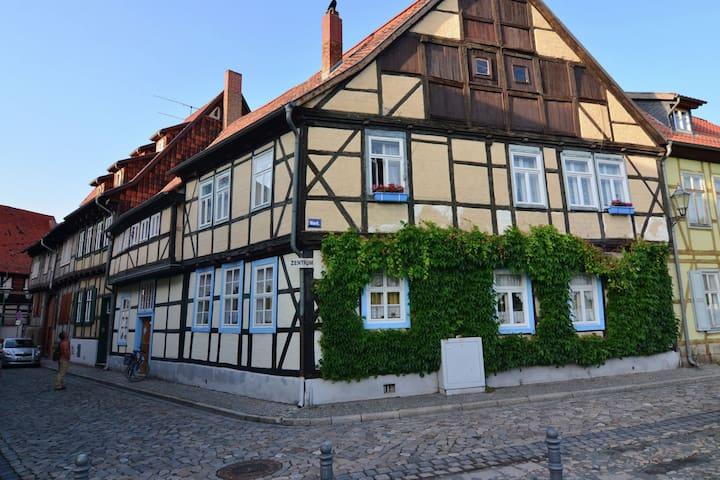 Holiday home in medieval Quedlinburg