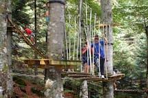 Parcours acrobatique Aya (à Bagnères de Bigorre)