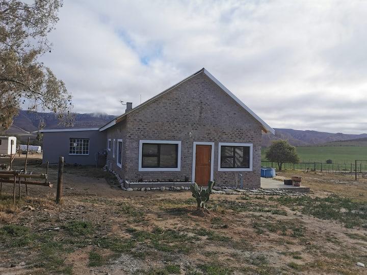 Karoo working farm accommodation