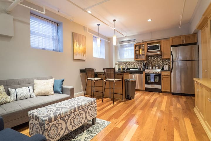 Modern one bedroom condo in the heart of Back Bay