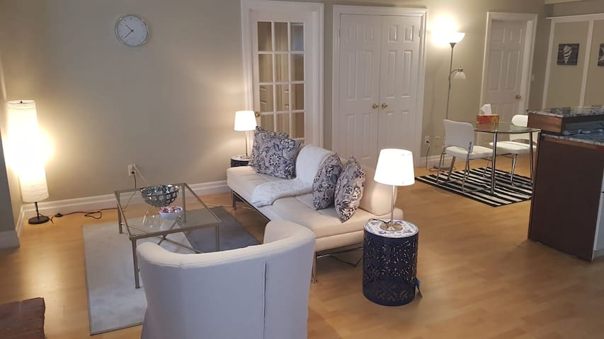 Bright and Beautiful fully Furnished Walkout unit