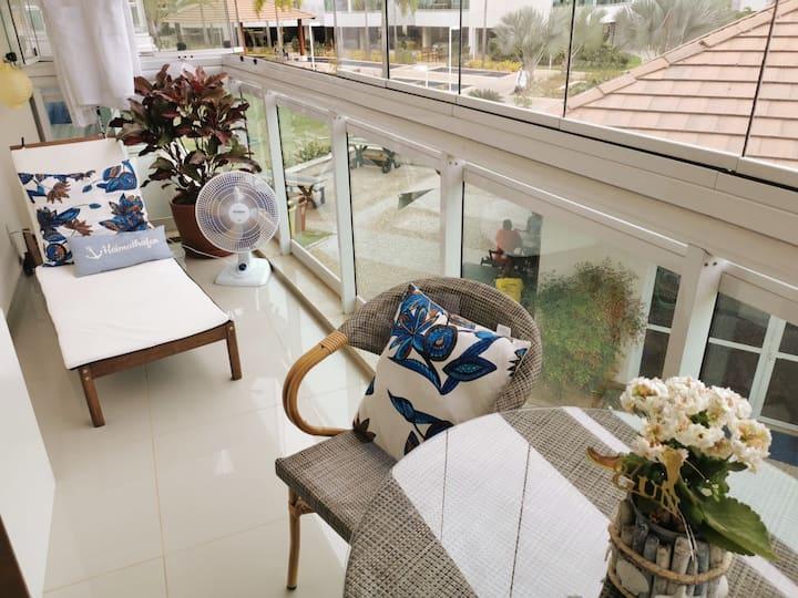 Elegante apartamento na RegiãoOceânica de Niterói!