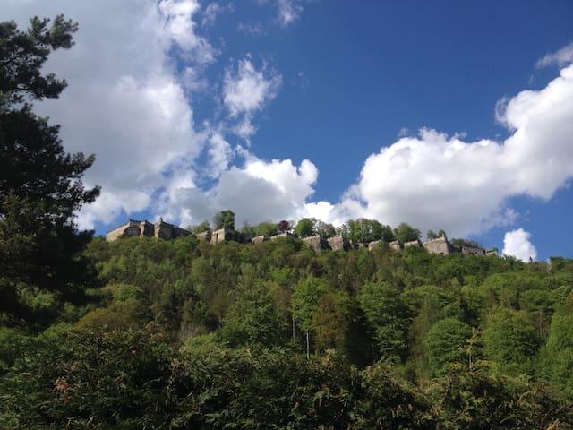 Sehr ruhiges Künstlerhaus mit Festungsblick! - Königstein - Rumah