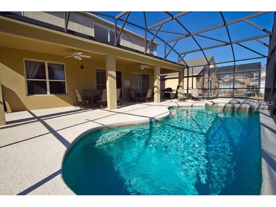 Private Heated Pool w/ In Ground Hot Tub