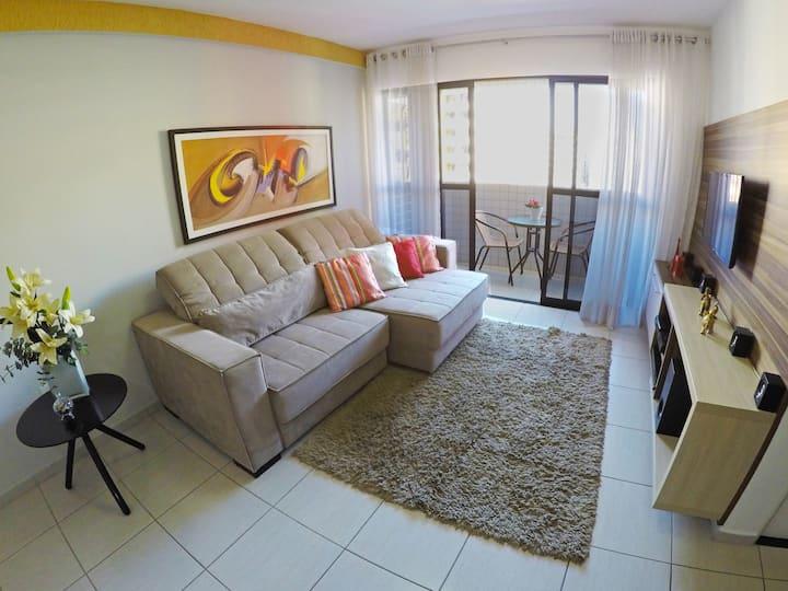 Apartamento completo na Ponta Verde