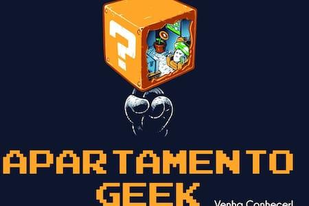 Apartamento Geek - Ideal para trabalho ou lazer.