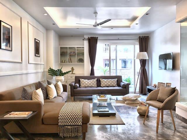 The Lotus - luxury 3 bedroom apartment - New Delhi - Appartement