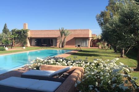 Villa moderne Dar Ongi Etorri à Marrakech - Marrakesh