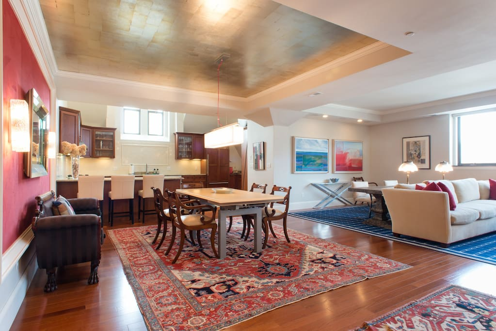 Living/dining/ kitchen