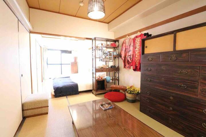 Monthly service apartment/Kamearri2 min/Akiba/Ueno