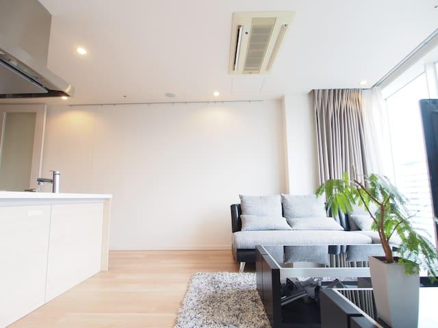 【中文・한글OK!】SPACIOUS CENTRAL 5min St - 港区 - Lejlighedskompleks