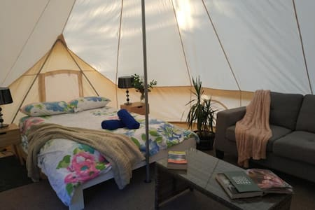 Zeehan Bush Camp - Luxury Family Glamping tent