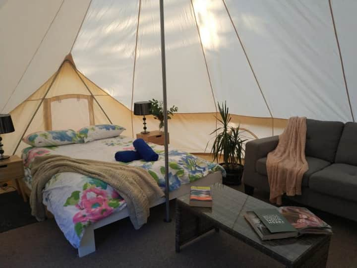 Zeehan Bush Camp - Luxury Family Glamping tent